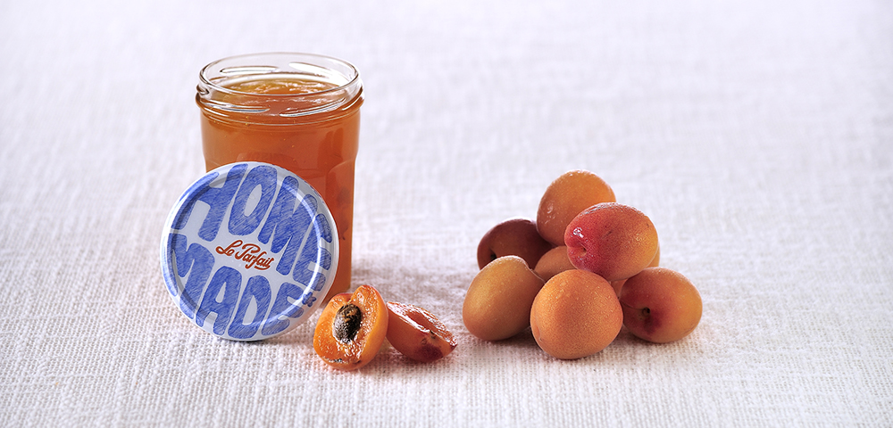 Apricot and thyme jam