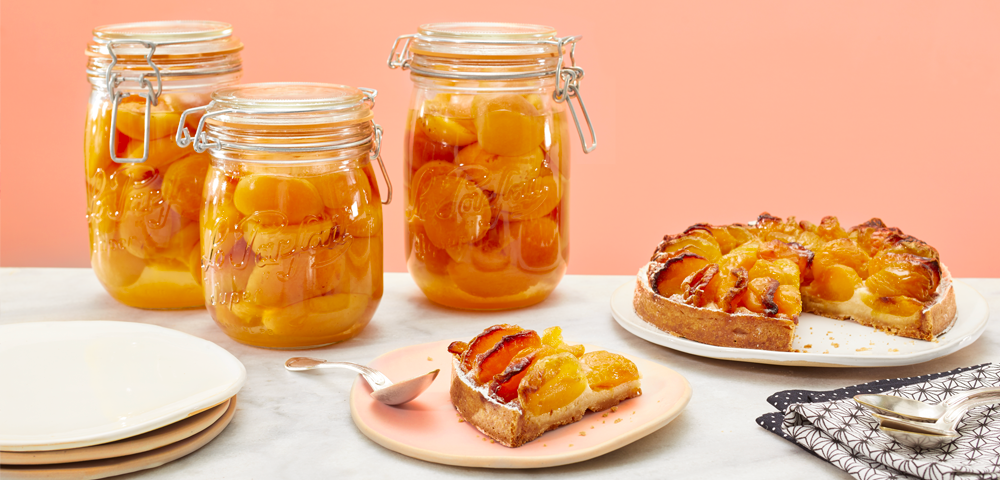 Apricots in syrup