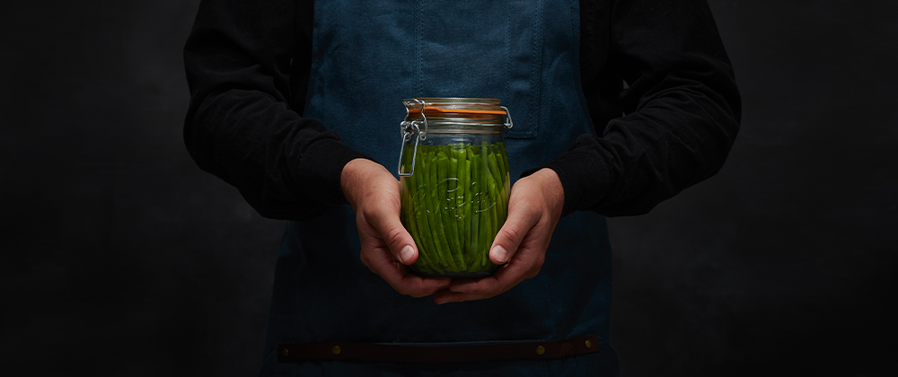 Preserved Green Beans